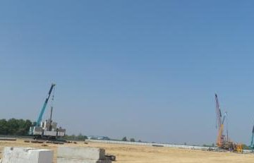 1 million tons per year capacity cement grinding station for Yojin Myanmar Cement plant project at Thilawa SEZ 2